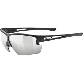 UVEX Sportstyle 812 Glasses, black mat/ltm. silver